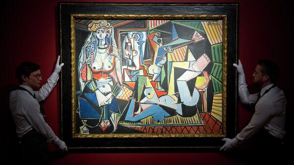 Картина Пабло Пикассо Алжирские женщины (версия О) в аукционном доме в Британии