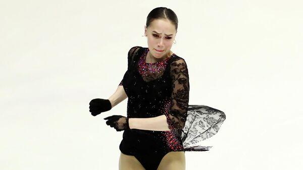 Фигуристка Алина Загитова (Россия)