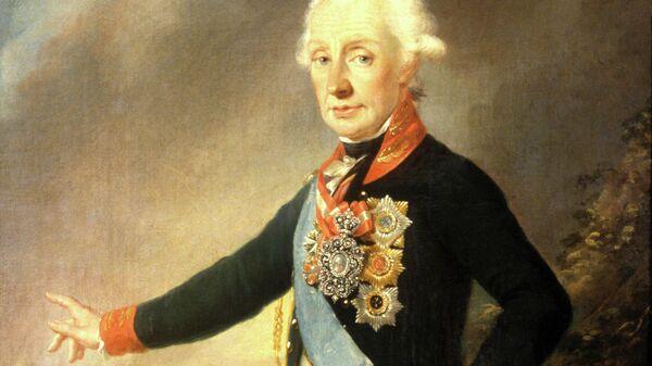 Репродукция портрета Александра Васильевича Суворова