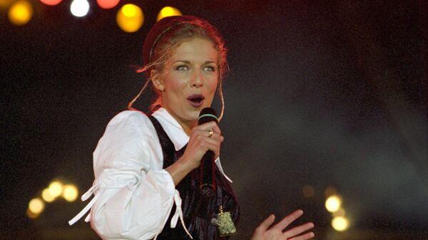 Певица Наталья Ветлицкая