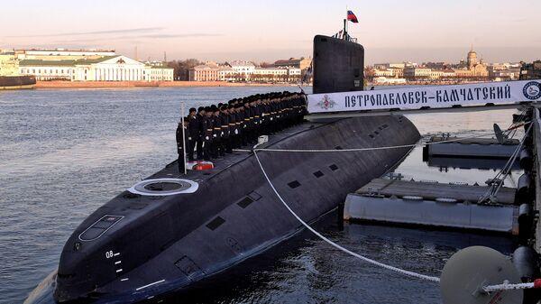 Дизель-электрическую подлодку Петропавловск-Камчатский передали ВМФ России. 25 ноября 2019