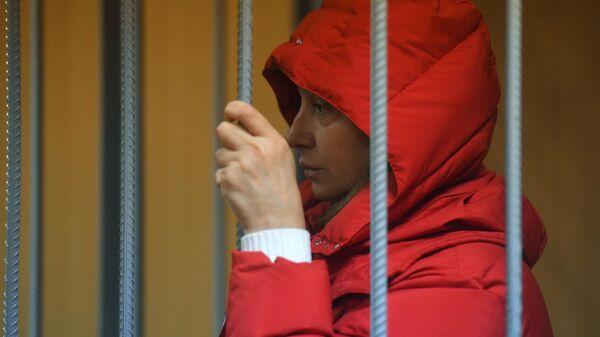Заместитель руководителя Росалкогольрегулирования Ирина Голосная в Пресненском суде Москвы