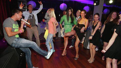 Вечеринка в честь открытия конкурса Новая волна 2013