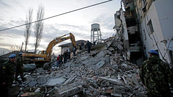 В Албании при землетрясении один человек погиб, сотни пострадали