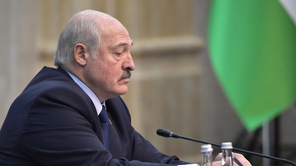 Президент Белоруссии Александр Лукашенко на заседании Совета коллективной безопасности ОДКБ