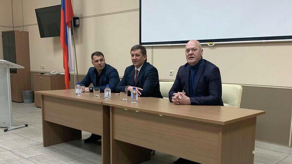 Директор ФК Енисей Алексей Ивахов