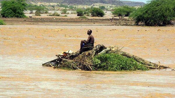 Последствия наводнения в Джибути