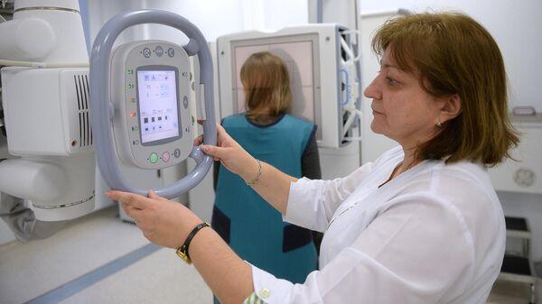 Работа кабинета рентгена