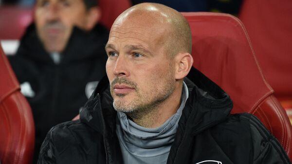 Фредрик Юнгберг, назначенный И.О. главного тренера Арсенала