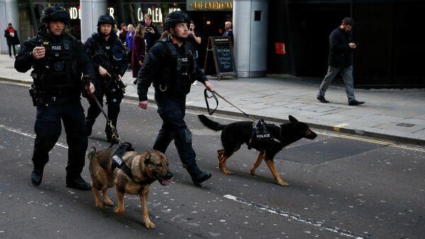 Полицейские в районе Лондонского моста. 29 ноября 2019