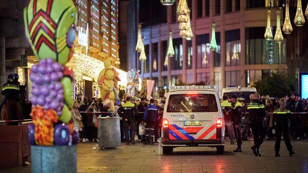 Нападение с ножом в центре на торговой улице в центре Гааги. 29 ноября 2019