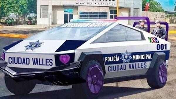 Tesla Cybertruck полиции мексиканского города Вальес