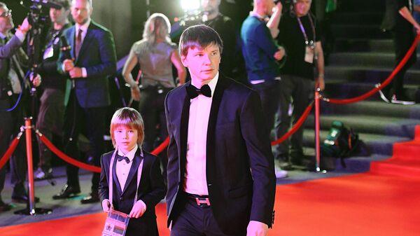 Андрей Аршавин (Россия) с сыном Арсением