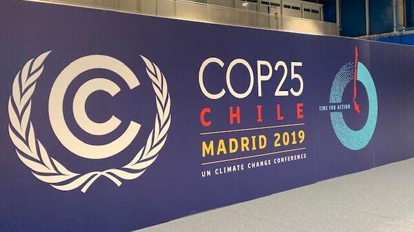 Климатическая конференция COP25 в Мадриде