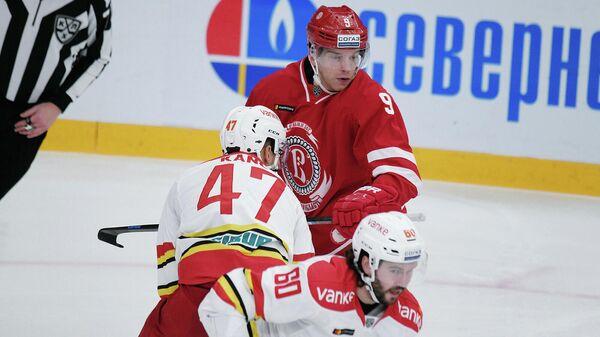 Витязь - Куньлунь в матче регулярного чемпионата КХЛ
