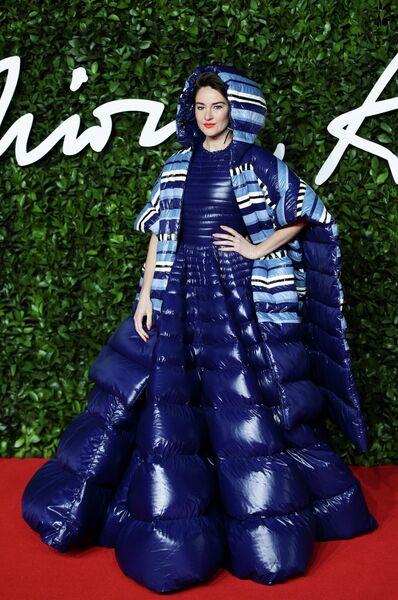 Актриса Шейлин Вудли на церемонии вручения премии British Fashion Awards 2019