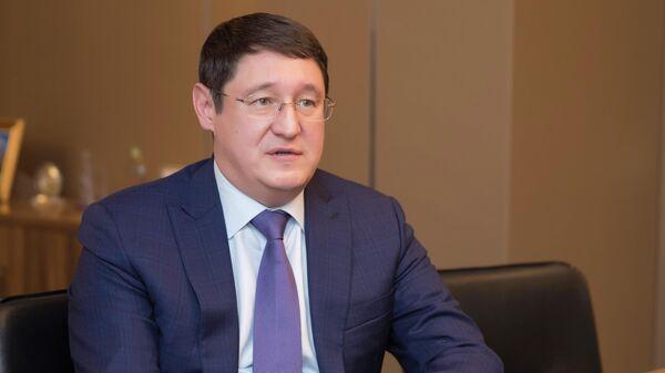 Управляющий директор ФНБ Самрук-Казына Алмасадам Саткалиев