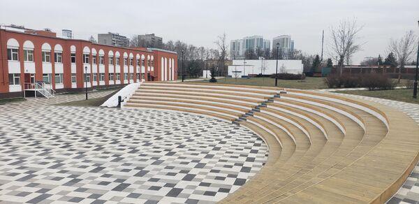 Амфитеатр в Детском Черкизовском парке