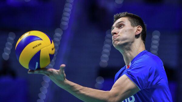 Волейбол. Чемпионат мира. Мужчины. Матч США - Россия