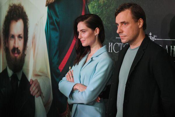 Актёры Юлия Снигирь и Евгений Цыганов