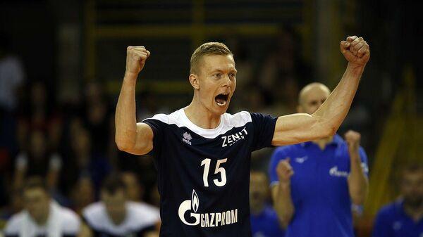 Волейболист казанского Зенита Денис Земченок