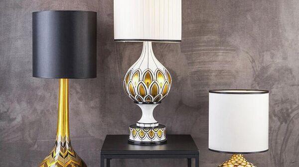Лампы Хохлома