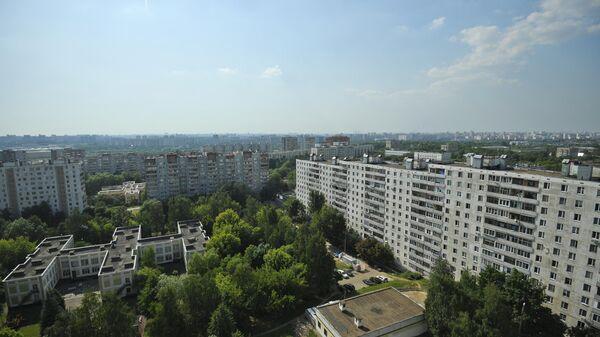 Жилые дома в московском районе Капотня