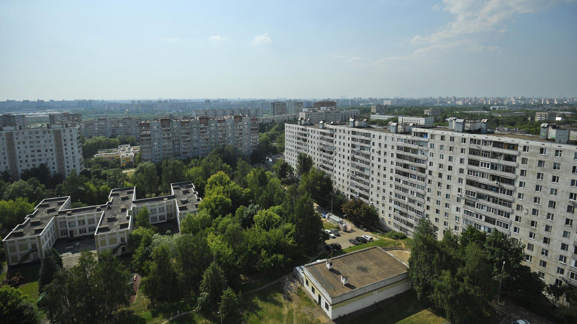 Жилые дома в московском районе Капотня - РИА Новости, 1920, 10.05.2021