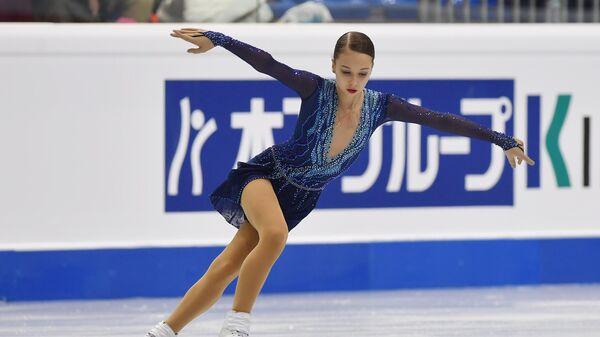 Российская фигуристка Ксения Синицына