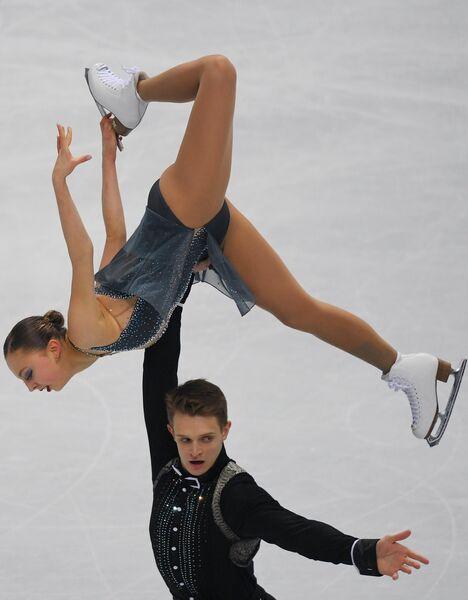 Фигурное катание. Александра Бойкова и Дмитрий Козловский