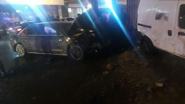ДТП с пешеходами в Нижнем Новгороде на улице Горького. 7 декабря 2019