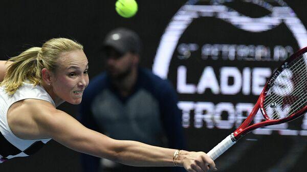 Теннисный турнир в Петербурге вновь получил награду WTA