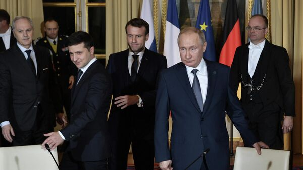 Встреча лидеров нормандской четверки