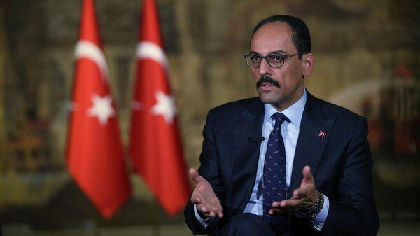 Специальный советник и пресс-секретарь президента Турции Ибрахим Калын
