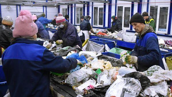 Раздельный сбор мусора в Москве