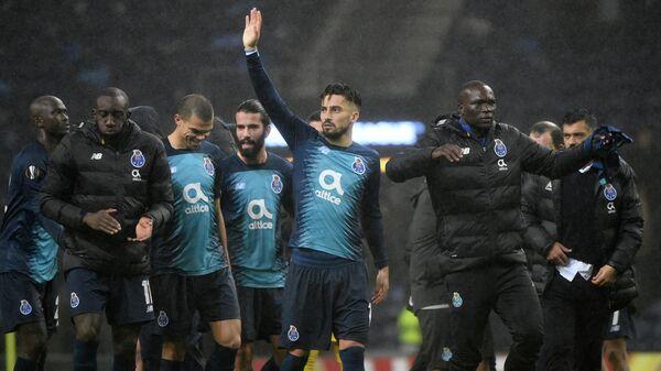 Футболисты Порту после матча с Фейенордом