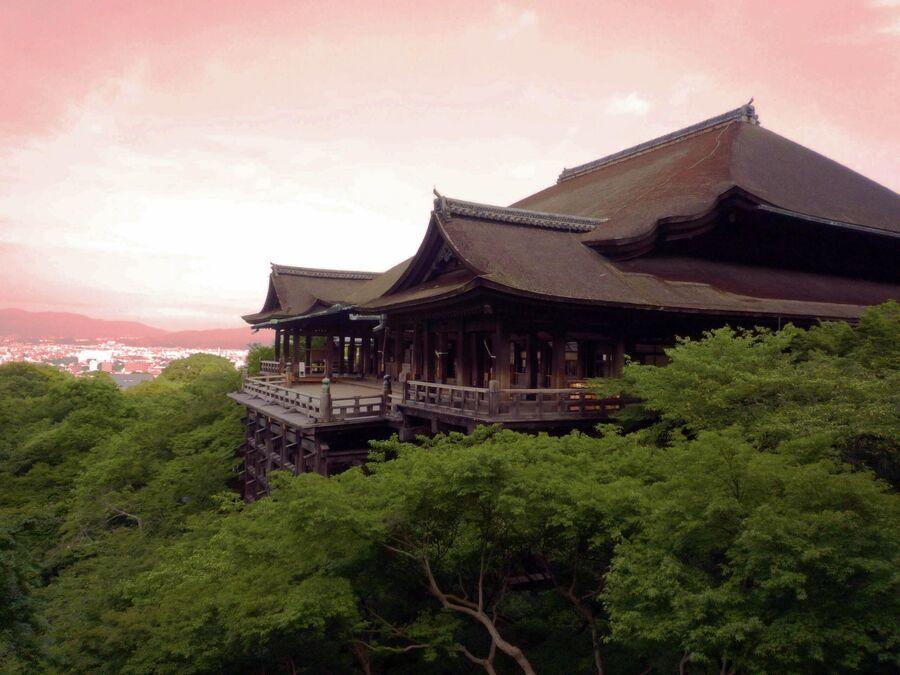 Храм Киёмидзу-дэра в Киото