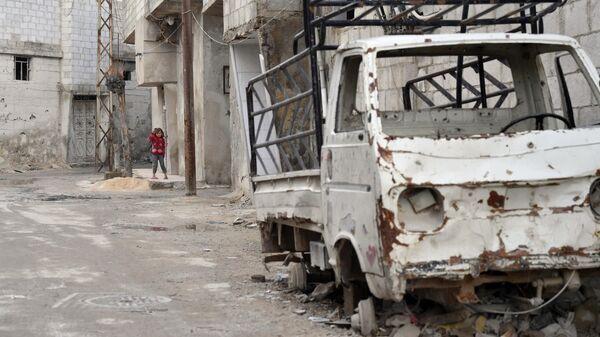 Город Дума в окрестностях Дамаска