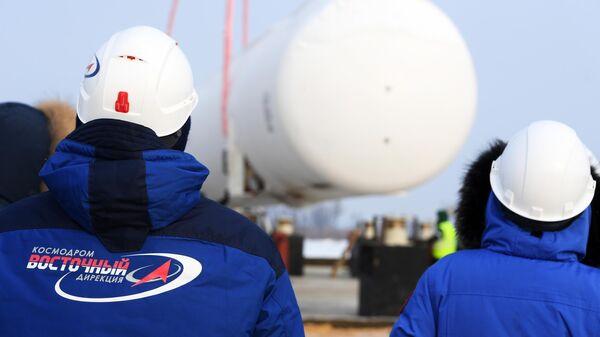 Строительство второй очереди космодрома Восточный