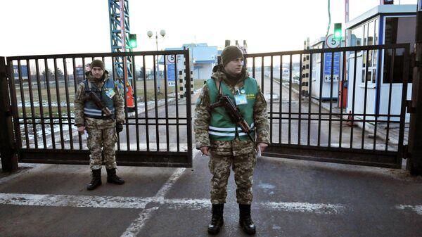 Зона контроля Государственной пограничной службой Украины
