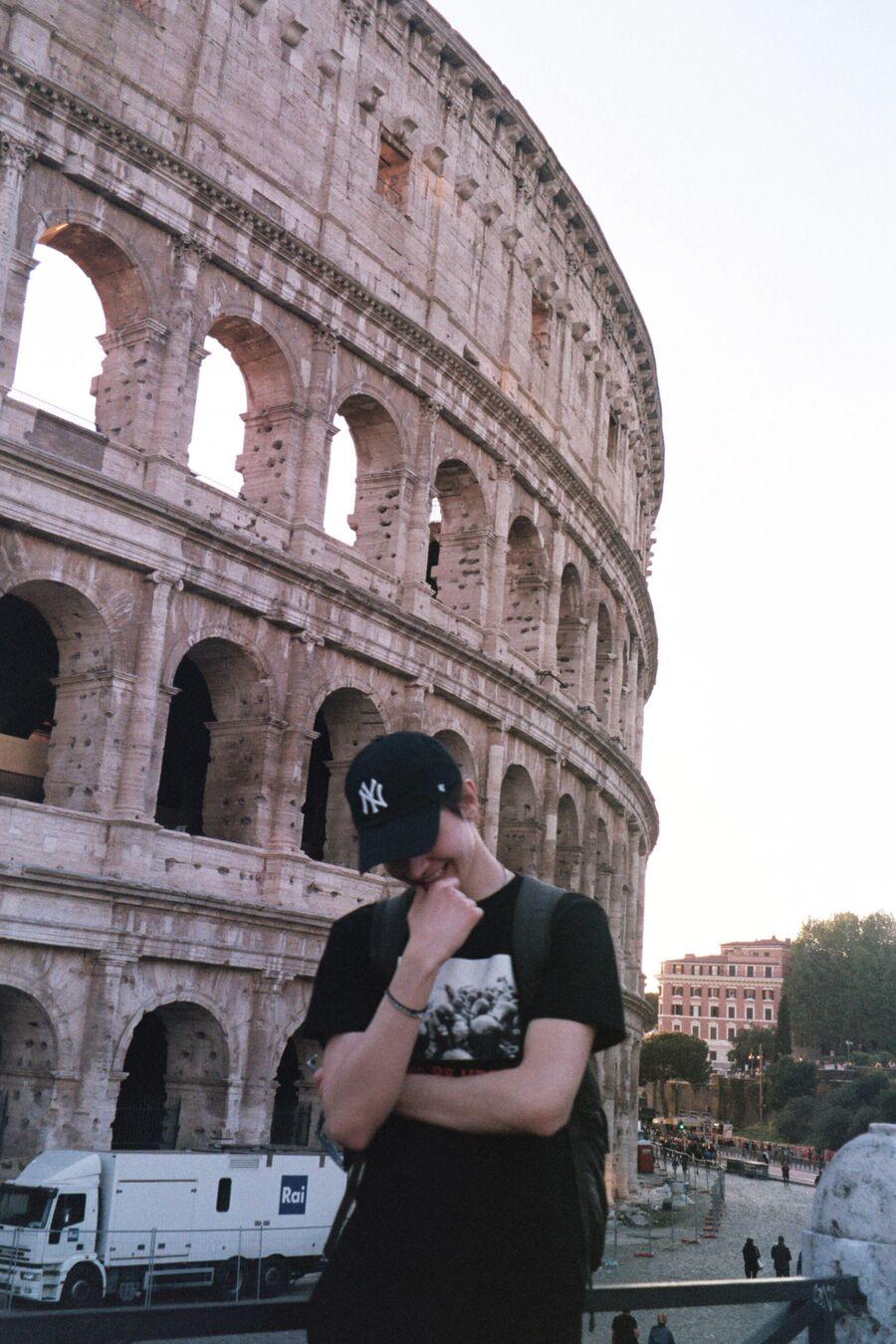 Никита Киоссе в Риме