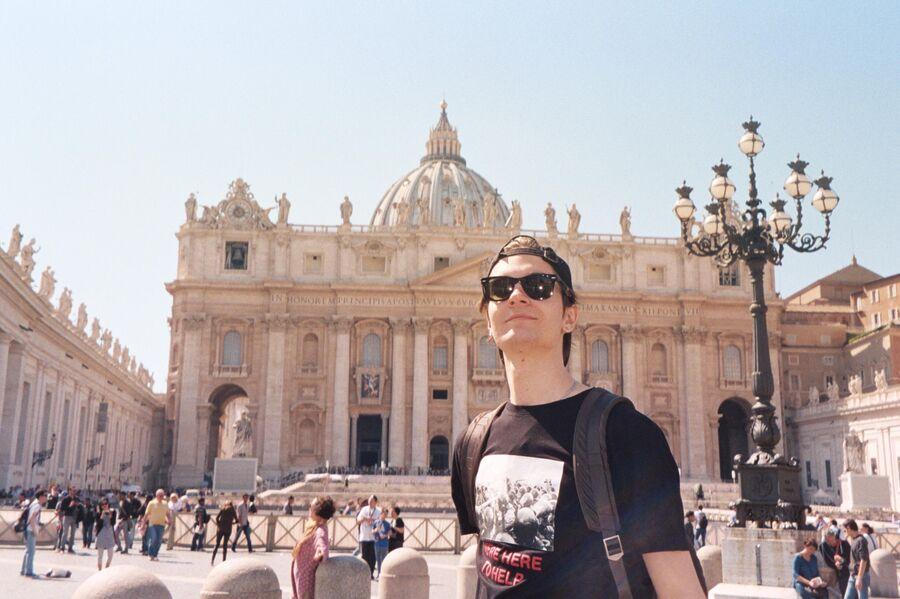 Никита Киоссе в Ватикане