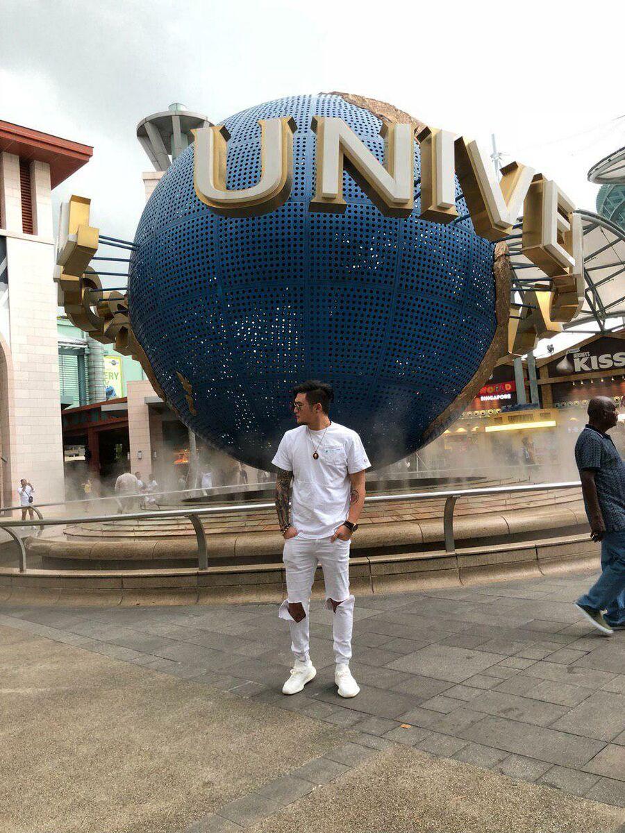 Анатолий Цой в Сингапуре