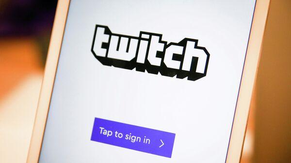 Логотип платформы Twitch