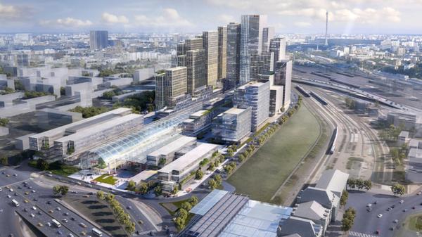 Проект архитектурно-градостроительной концепции застройки территории Рижского грузового двора в Москве