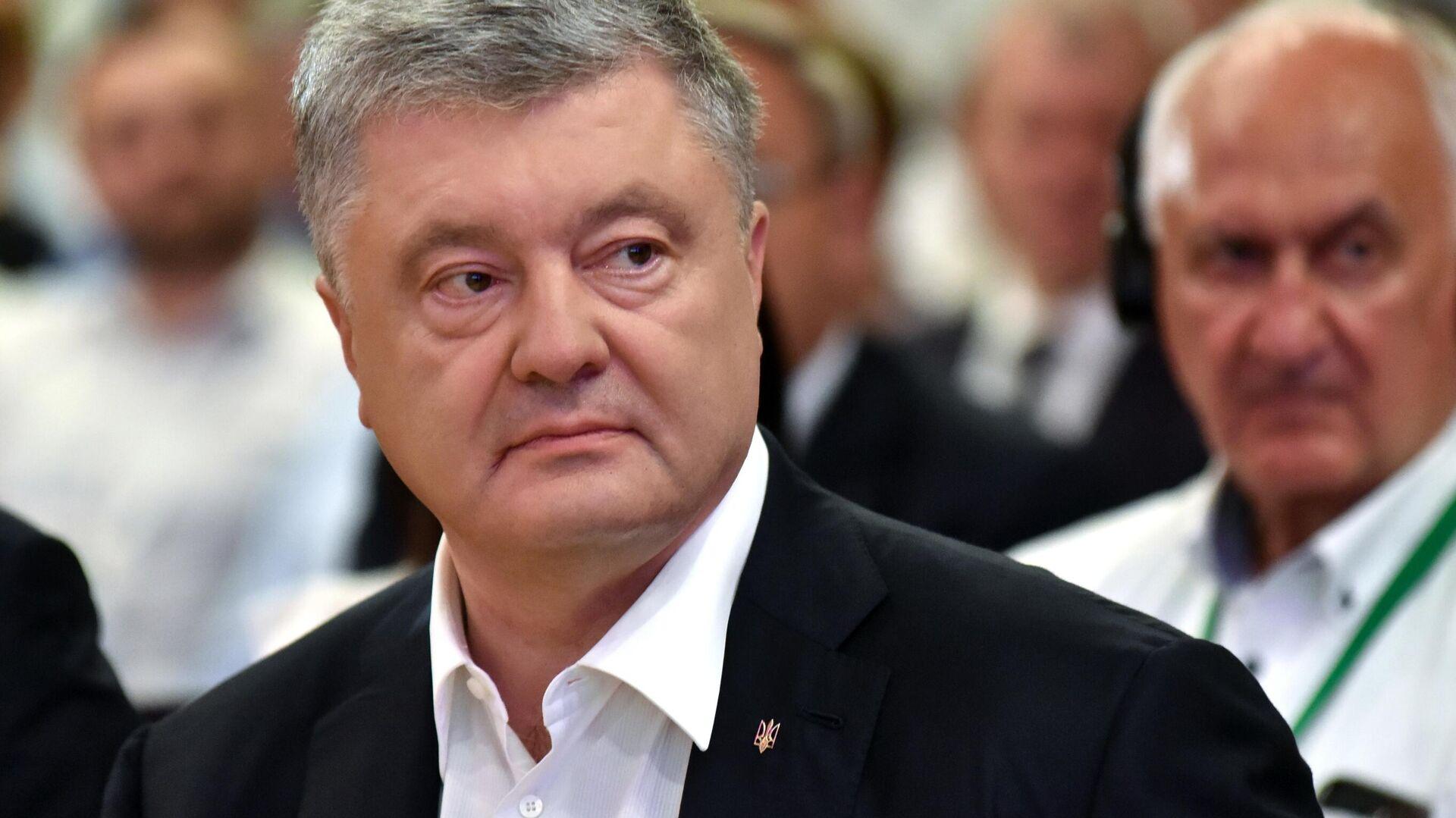Экс-президент Украины Петр Порошенко - РИА Новости, 1920, 04.09.2020
