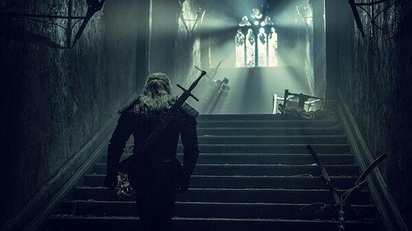 Кадр из сериала Ведьмак