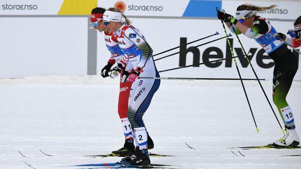 Лыжные гонки. Чемпионат мира. Женщины. Командный спринт