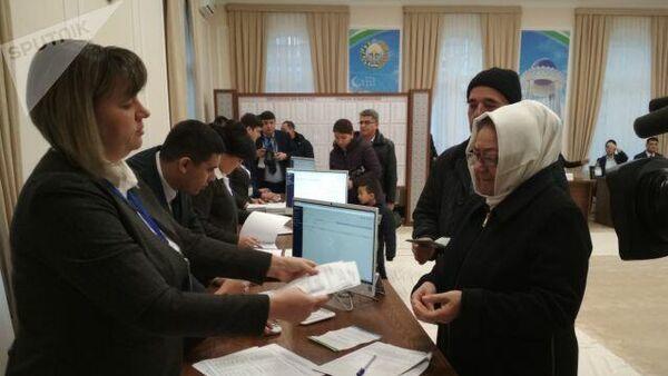 Парламентские выборы в Узбекистане