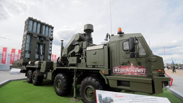 Пусковая установка зенитной ракетной системы С-350 ВИТЯЗЬ